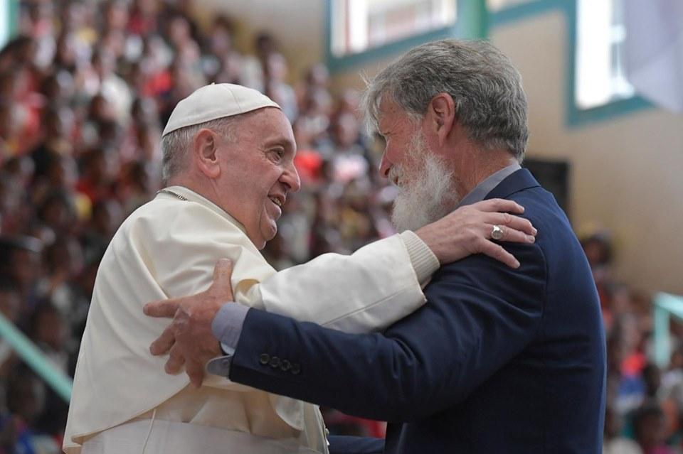 Le pape François et Père Pedro: deux amis